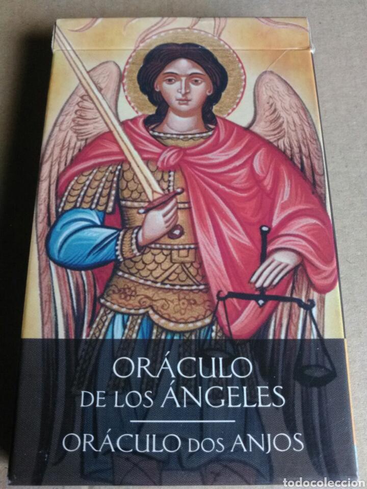 ORÁCULO DE LOS ANGELES. (Juguetes y Juegos - Cartas y Naipes - Barajas Tarot)