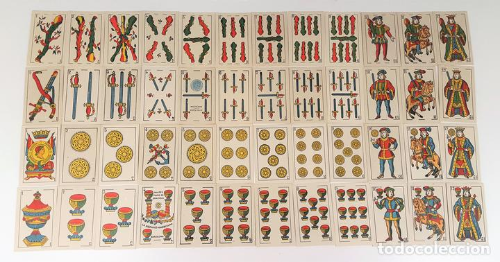 BARAJA DE 48 NAIPES. LA HISPANO AMERICANA. JOAN ROURA. BARCELONA. CIRCA 1930. (Juguetes y Juegos - Cartas y Naipes - Baraja Española)