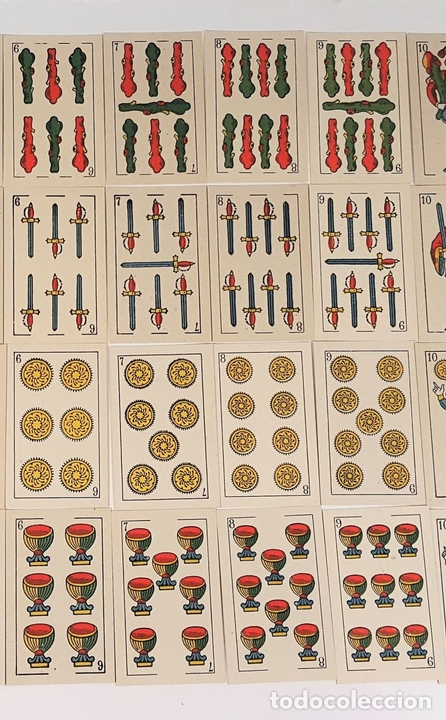 Barajas de cartas: BARAJA DE 48 NAIPES. LA HISPANO AMERICANA. JOAN ROURA. BARCELONA. CIRCA 1930. - Foto 3 - 161119094