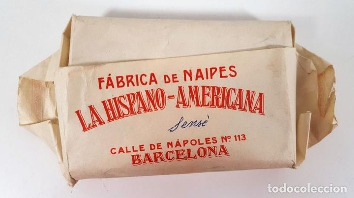 Barajas de cartas: BARAJA DE 48 NAIPES. LA HISPANO AMERICANA. JOAN ROURA. BARCELONA. CIRCA 1930. - Foto 6 - 161119094