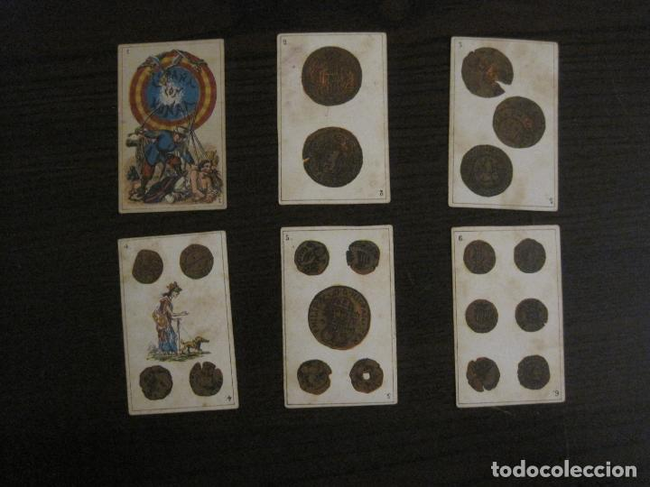 Barajas de cartas: BARAJA ESPAÑA CON HONRA-COMPLETA 48 CARTAS-VER FOTOS-(V-16.420) - Foto 2 - 161163146