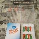 Barajas de cartas: BARAJA YOGURT SANCOR NAIPES NUEVO YOGS SANCOR CARTAS. Lote 161236768