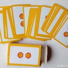 Barajas de cartas: BARAJA PUBLICITARIA SHELL POKER BRIDGE 54 CARTAS. Lote 161259126