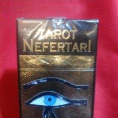 Barajas de cartas: TAROT NEFERTARI. LUZ EGIPTO. Lote 161261101