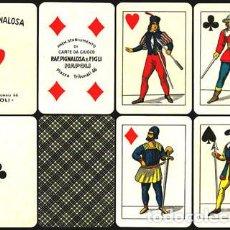 Barajas de cartas: BARAJA FLORENTINA - ITALIA SIGLO XX (1920) NUEVA - CERTIFICADO COLECCIÓN FOURNIER. Lote 161321830