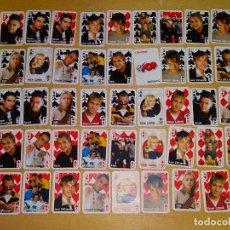 Jeux de cartes: BARAJA DE CARTAS JUVENTIL. MINI LILIPUT. LAS CARTAS DE LOS FAMOSOS. SUPER POP. 30GR. Lote 161394334