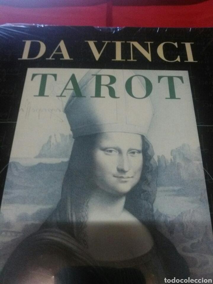 DA VINCI.CARTAS+LIBRO.TAROT. ESTUCHE. (Juguetes y Juegos - Cartas y Naipes - Barajas Tarot)