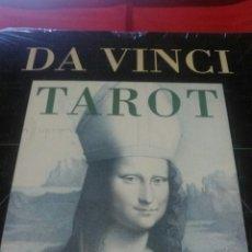 Barajas de cartas: DA VINCI.CARTAS+LIBRO.TAROT. ESTUCHE.. Lote 161434204