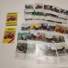 Baralhos de cartas: 419- BARAJA DE CARTAS - MOTOS SUPERMOTOS - HERACLIO FOURNIER - 1984. Lote 161475486