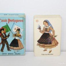 Mazzi di carte: BARAJA INFANTIL CASAIS PORTUGUESES - MAJORA MADE IN PORTIGAL. Lote 161504550