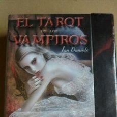 Barajas de cartas: NUEVO!! TAROT DE LOS VAMPIROS.. Lote 161520813