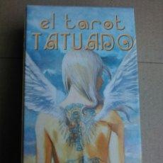 Barajas de cartas: TAROT TATUADO. Lote 161528513