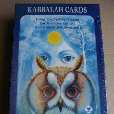 Barajas de cartas: KABBALAH CARDS DIFÍCIL ENCONTRAR. COLECCIONISTAS.. Lote 161530006