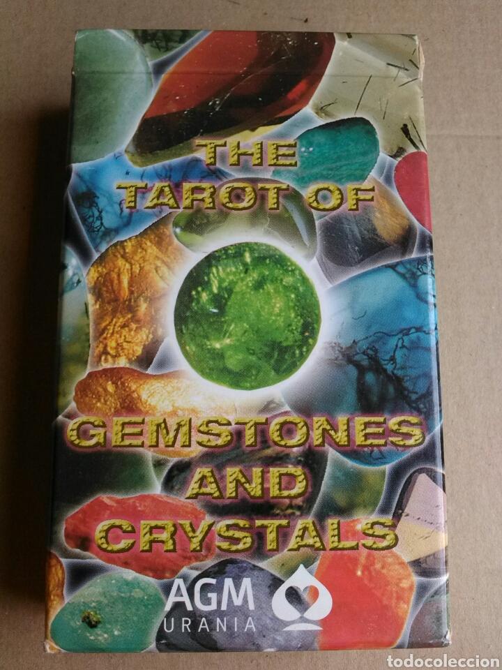 TAROT GEMSTONES AND CRISTALS. COLECCIONISTAS (Juguetes y Juegos - Cartas y Naipes - Barajas Tarot)
