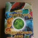 Barajas de cartas: TAROT GEMSTONES AND CRISTALS. COLECCIONISTAS. Lote 161532980