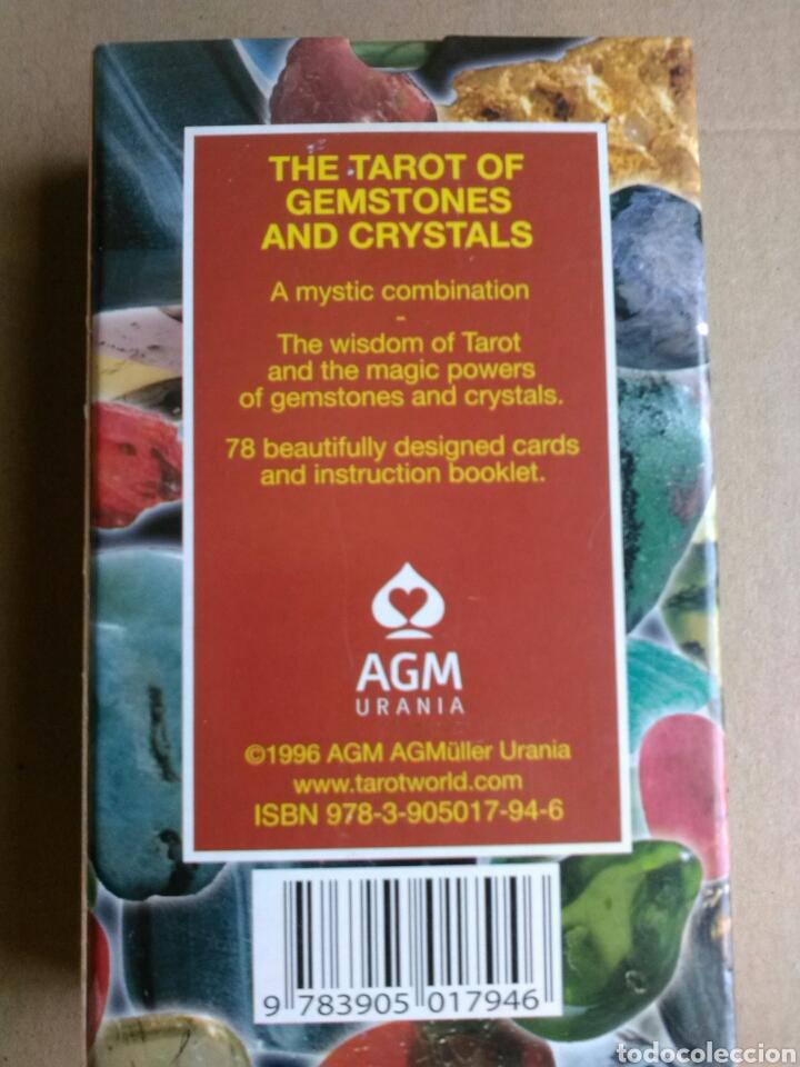 Barajas de cartas: TAROT GEMSTONES AND CRISTALS. Coleccionistas - Foto 2 - 161532980