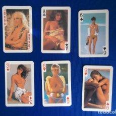 Baralhos de cartas: BARAJA CARTAS POKER SEXY VINTAGE SEXO MUJER DESNUDA DESTAPE SEXUAL PORNO PORNOGRAFIA RETRO EROTICO. Lote 161624034