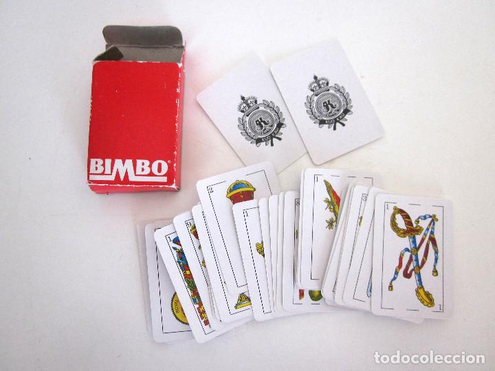 MINIBARAJA BARAJA CARTAS ESPAÑOLAS NAIPES BIMBO COMPLETA 48 CARTAS + 2 COMODINES + ESTUCHE (Juguetes y Juegos - Cartas y Naipes - Baraja Española)