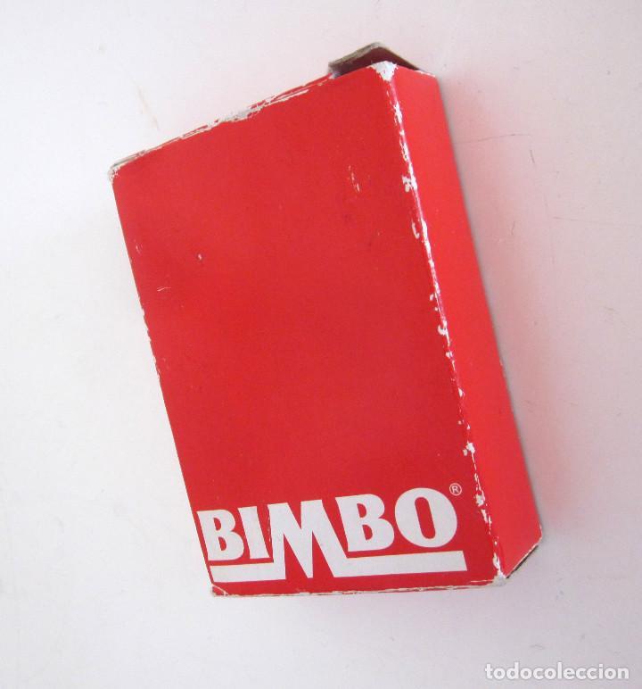 Barajas de cartas: Minibaraja Baraja Cartas Españolas Naipes Bimbo completa 48 cartas + 2 comodines + estuche - Foto 3 - 161631034
