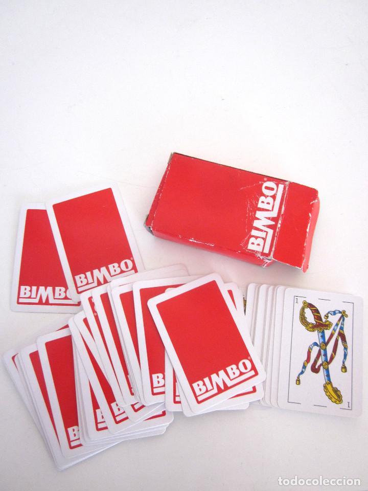 Barajas de cartas: Minibaraja Baraja Cartas Españolas Naipes Bimbo completa 48 cartas + 2 comodines + estuche - Foto 6 - 161631034