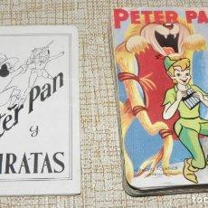 Barajas de cartas: BARAJA DE CARTAS INFANTIL- PETER PAN Y LOS PIRATAS WALT DISNEY / 44 CARTAS- FOURNIER, 1962 -COMPLETA. Lote 161719342