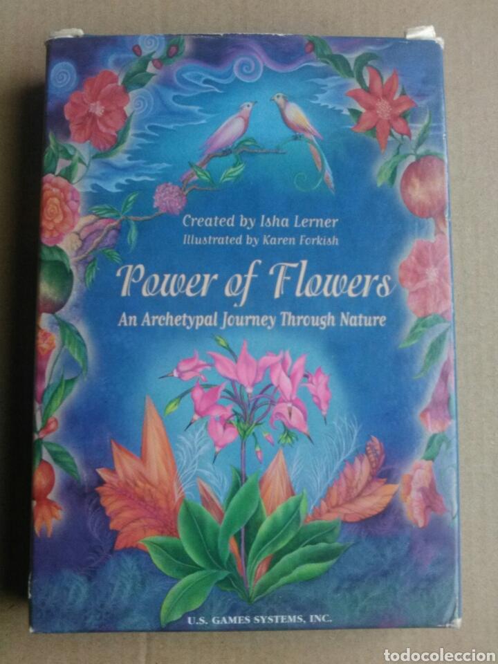 POWER OF FLOWER. (Juguetes y Juegos - Cartas y Naipes - Barajas Tarot)