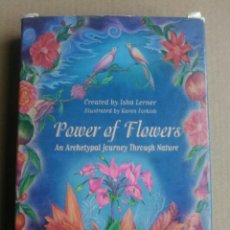 Barajas de cartas: POWER OF FLOWER.. Lote 161735953