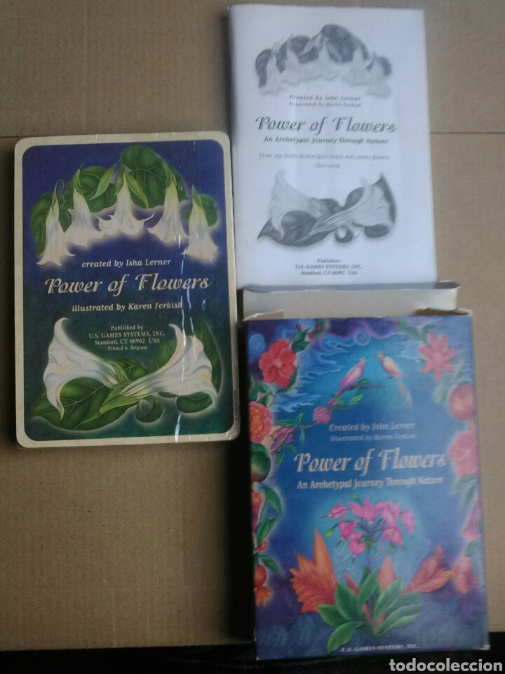 Barajas de cartas: POWER OF FLOWER. - Foto 2 - 161735953