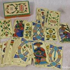 Barajas de cartas: BARAJA CARTAS TAROT BILINGUE FOURNIER . Lote 161976070