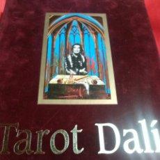 Barajas de cartas: TAROT DALÍ. CARTAS+LIBRO.. Lote 162037922
