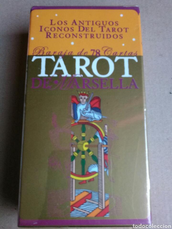 TAROT DORADO DE MARSELLA. (Juguetes y Juegos - Cartas y Naipes - Barajas Tarot)