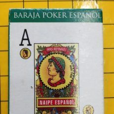 Barajas de cartas: BARAJA POKER ESPAÑOL -MAS REINALS NAIPES EUROPA-A DESPRECINTAR. Lote 221615977