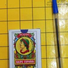 Barajas de cartas: BARAJA MINI ESPAÑOLA (LITIPUPT) MAS REINALS 50 CARTAS DE VARITEMAS A DESPRECINTAR. Lote 207132125