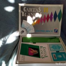 Barajas de cartas: JUEGO CARTAS BLANCAS 2 DE ISABEL BORONDO DE FOURNIER CON DOS BARAJAS DE CARTAS. Lote 162352082