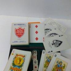 Barajas de cartas: BARAJA NAIPES COMAS- POKER HERACLIO FOURNIER VER FOTOS Y DESCRIPCIÓN. Lote 162355497