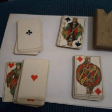 Barajas de cartas: BARAJA SIMEON DURA 1888 1923 52 NAIPES-TIMBRE DEL ESTADO POKER VALENCIA. Lote 162460542