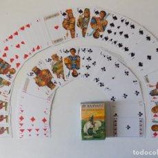 Barajas de cartas: LIBRERIA GHOTICA. BARAJA SLAVONIC.DINASTIAS ASIRIA,EGIPCIA,GRIEGA Y RUSA.1980.. Lote 162491726