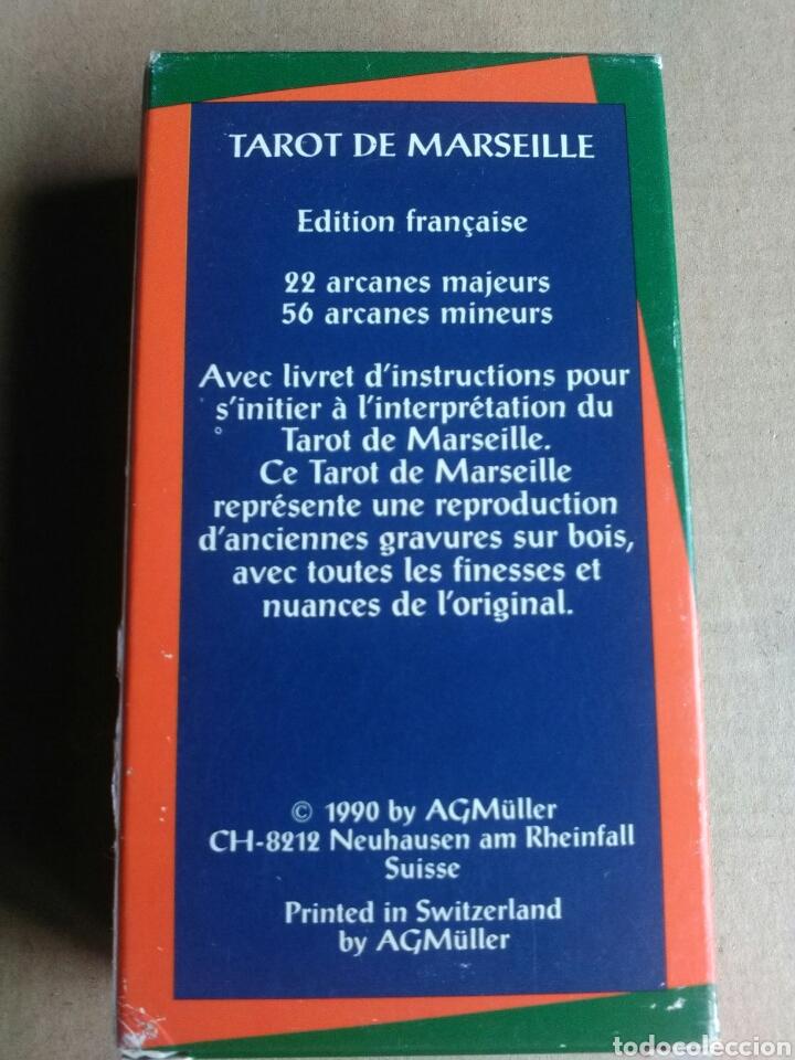 Barajas de cartas: TAROT MARSEILLE.1990. COLECCIONISTAS. - Foto 3 - 162595266