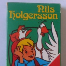 Barajas de cartas: BARAJA DE CARTAS NAIPES FOURNIER NILS HOLGERSSON 1980 IMPECABLE SIN USO PLAYING CARDS. SERIE TVE TV. Lote 162600438