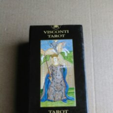 Barajas de cartas: MINI TAROT VISCONTI. Lote 162761412