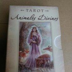 Barajas de cartas: TAROT DE LOS ANIMALES DIVINOS.. Lote 162762277