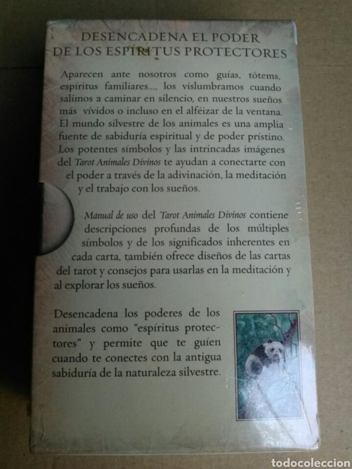 Barajas de cartas: TAROT DE LOS ANIMALES DIVINOS. - Foto 3 - 162762277