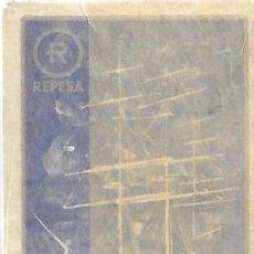 Barajas de cartas: BARAJA PÓKER HERACLIO FOURNIER REVERSO PUBLICIDAD REPESA. Lote 162762546
