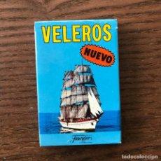 Barajas de cartas: BARAJA VELEROS HERACLIO FOURNIER 198? NUEVA. Lote 296572683