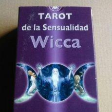 Barajas de cartas: WICCA TAROT. CARTAS. Lote 163068666