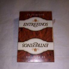 Barajas de cartas: BARAJA DE PURITOS ENTREFINOS.SIN DESPRECINTAR. Lote 163083769
