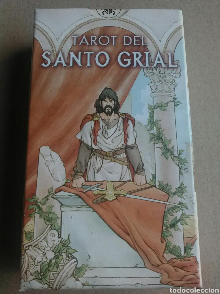 TAROT SANTO GRIAL. (Juguetes y Juegos - Cartas y Naipes - Barajas Tarot)