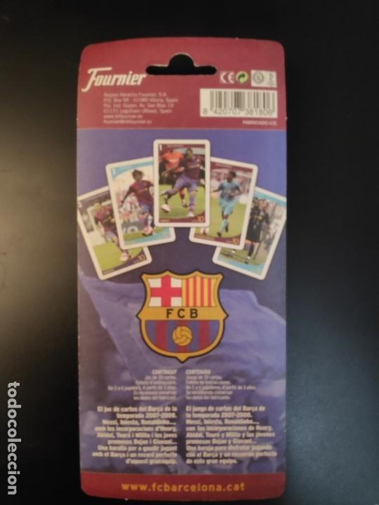 Barajas de cartas: BARAJA FC BARCELONA +barça+ -FUTBOL- BLISTER A ESTRENAR HERACLIO FOURNIER - Foto 2 - 178041763
