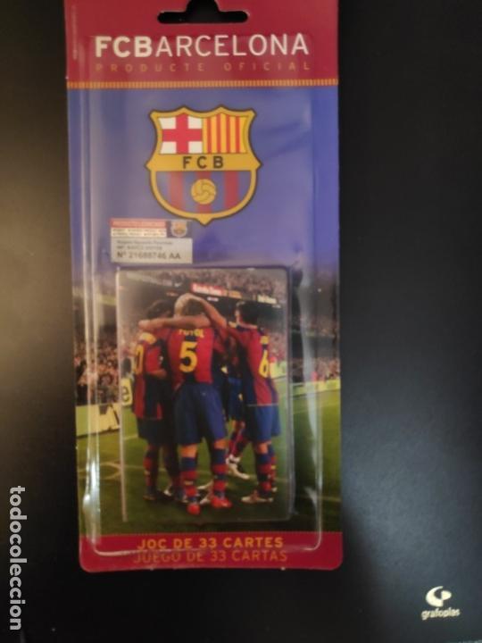 BARAJA FC BARCELONA +BARÇA+ -FUTBOL- BLISTER A ESTRENAR HERACLIO FOURNIER (Juguetes y Juegos - Cartas y Naipes - Otras Barajas)
