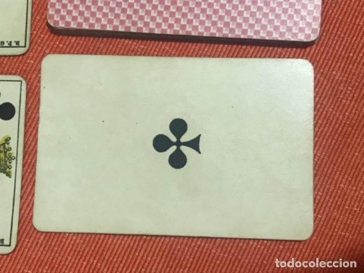 Barajas de cartas: antigua baraja francesa original b p grimaud completa s XIX 52 cartas naipes francia pintura mano - Foto 9 - 163428694